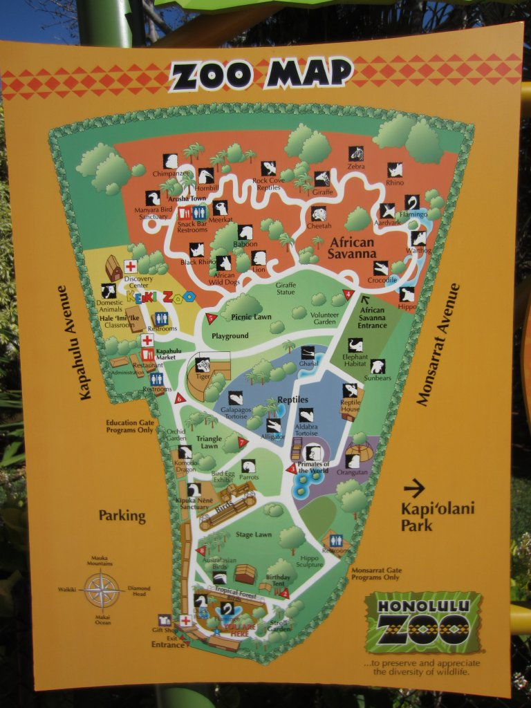 Map of the Zoo ZooChat